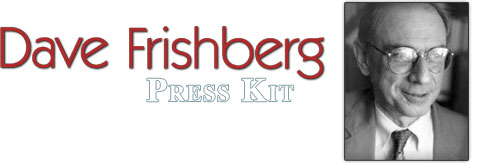 Dave Frishberg - Press Kit