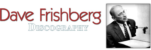 Dave Frishberg - Discography